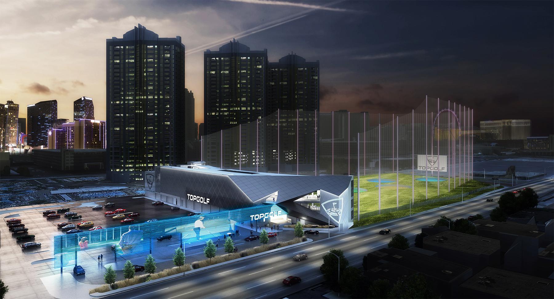 Topgolf Announces Flagship Las Vegas Location at MGM Grand