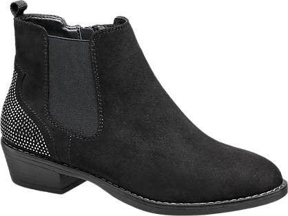 Graceland black embellished Chelsea boots Product number