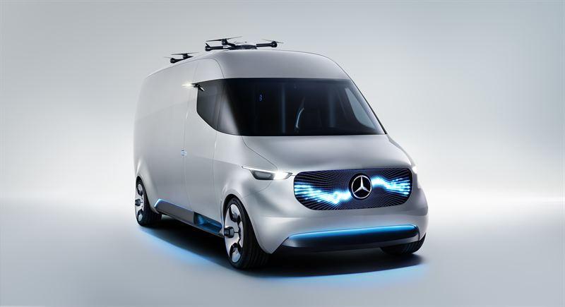 Mercedes Mini Van >> Mercedes Benz Esittelee Tulevaisuuden Alykkaan