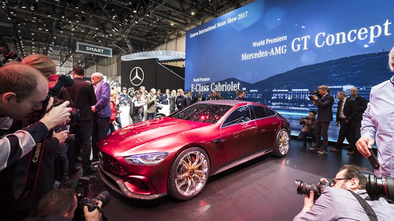 Amg Gt Concept >> Mercedes Amg Gt Concept Ihastutti Genevessa Veho Oy Ab