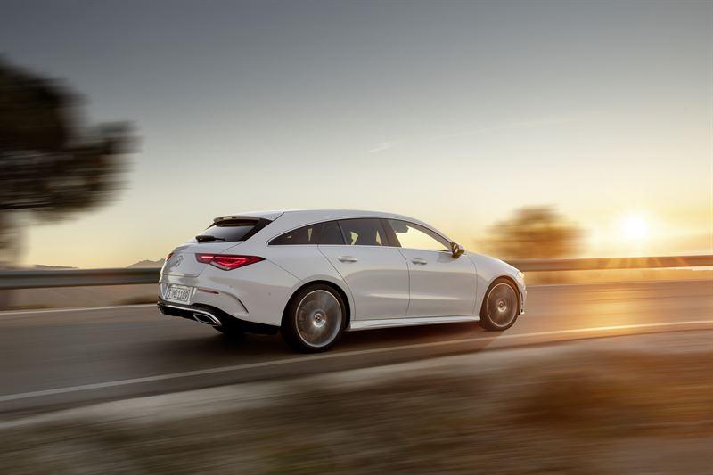 Cla Shooting Brake >> Mercedes Benz Cla Shooting Brake Dynaaminen Takaviisto