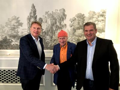 Karl-Johan Blank, Olav Thon og Per Jacobsen
