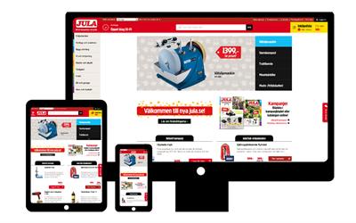 New web Jula