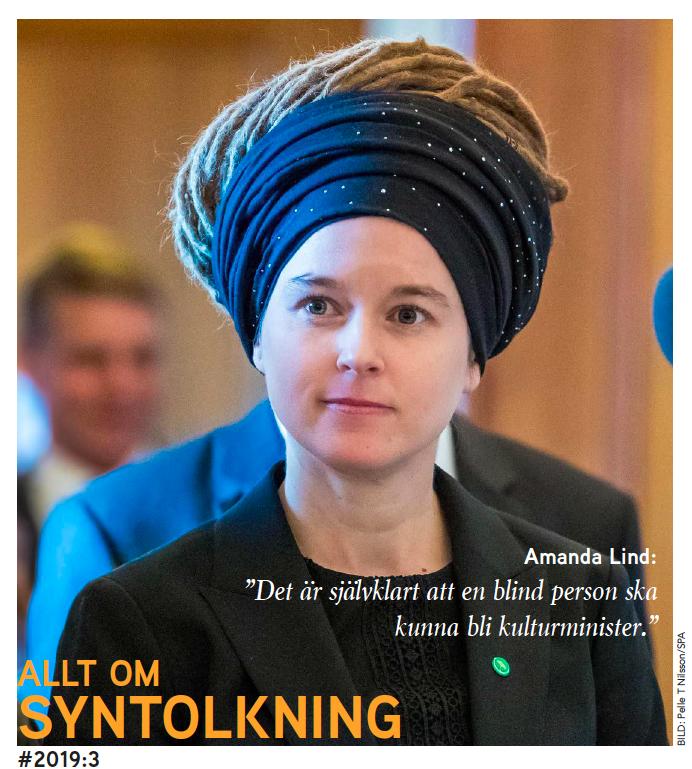 Amanda Lind p frsta sidan