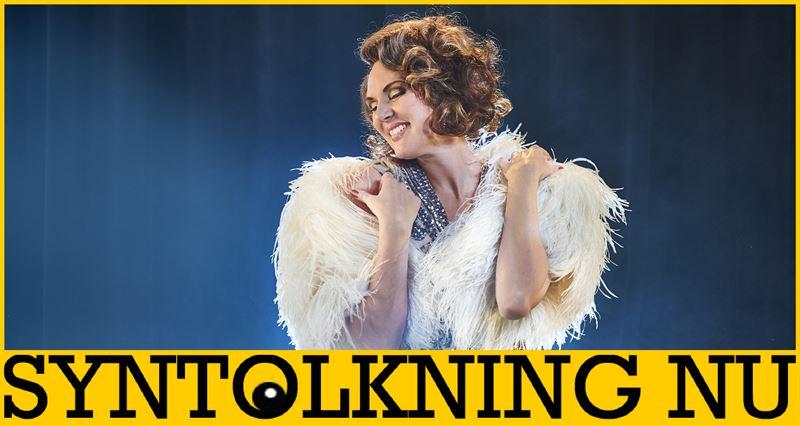 Sanna Nielsen som Fanny Brice i Funny girl p Malm Opera