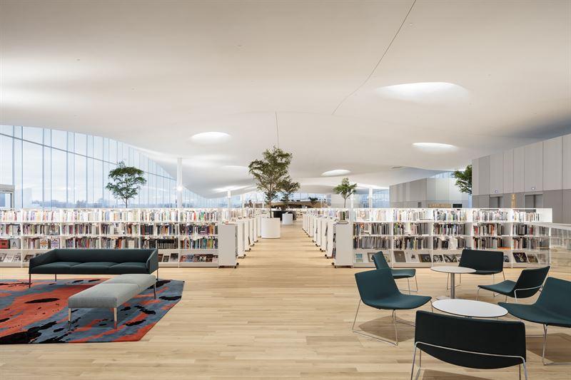 Oodi Helsinki: Third Floor Reading Room