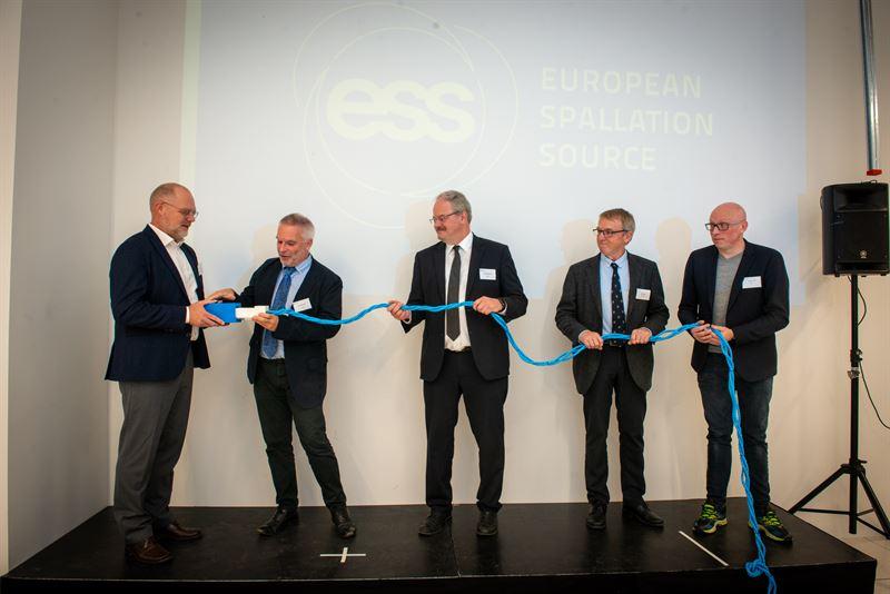 From left Hans Müller Pedersen John Womersley Andreas Schreyer Kurt Clausen and Jonathan Taylor