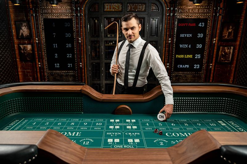Evolution launches world´s first online live Craps game - Evolution