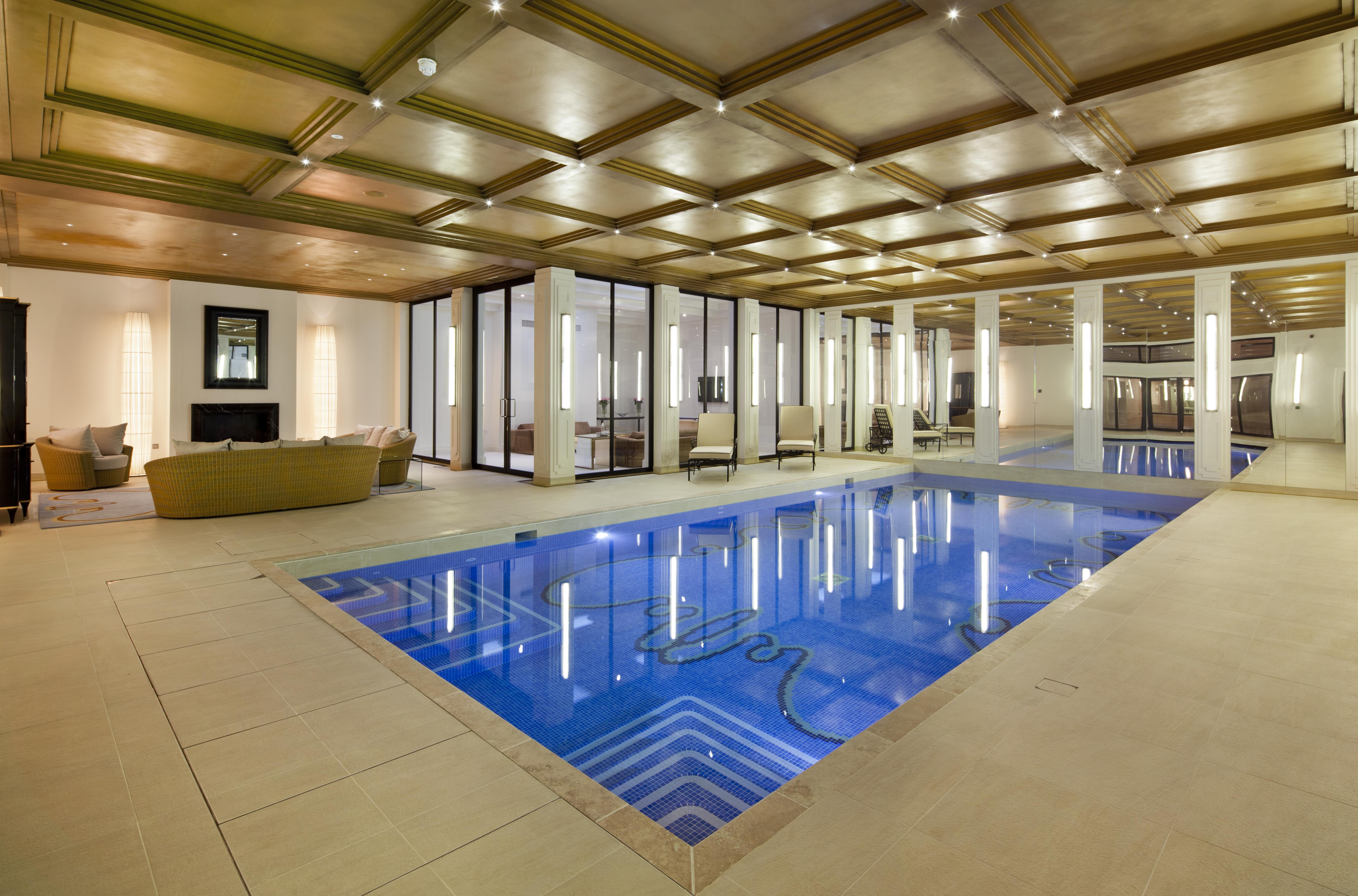 Luxurious Facilities Include This High Specification Swimming Pool In The Basement Isg