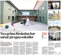 <p><strong><span><span>Acrinova har nyligen färdigställt ett prestigeprojekt - Nya Högalids Förskola på Eurovägen i Trelleborg. I augusti 2021 flyttade de första barnen in på förskolan, som rymmer åtta avdelningar och 160 barn.&nbsp;</span></span></strong></p>