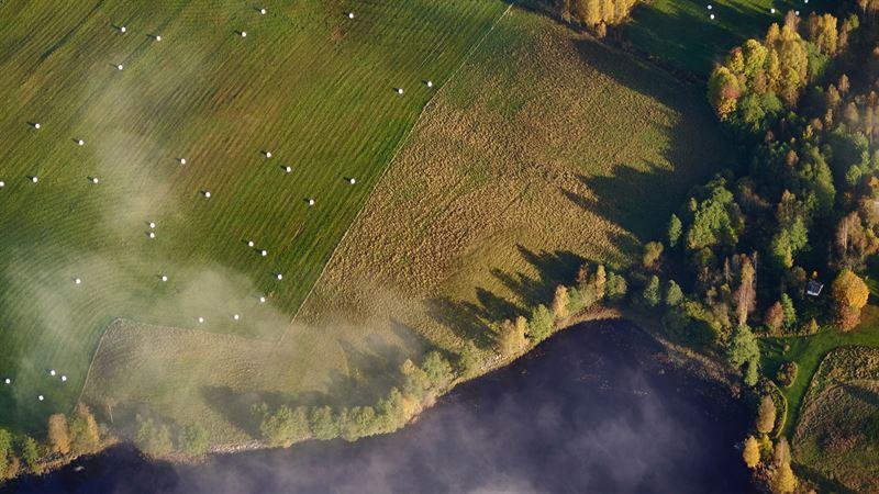 Bild lantbruk frn ovan