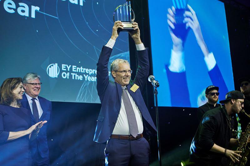 Per Grieg jr nasjonal vinner 2018 av EY Entrepreneur Of The Year i Norge