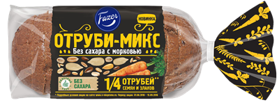 <b>Fazer</b> расширяет инновационную линейку хлебов «Овощи-<b>Микс</b> ...