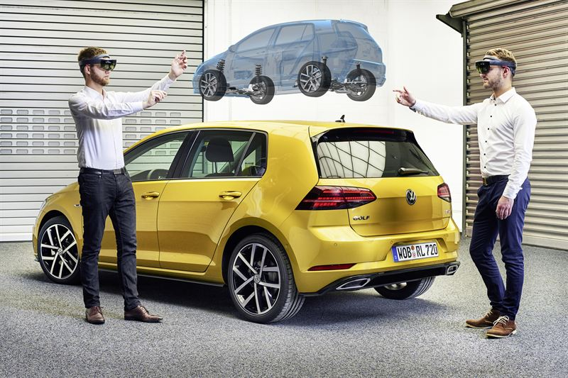 Volkswagenin virtuaalinen tuotekehityslaboratorio