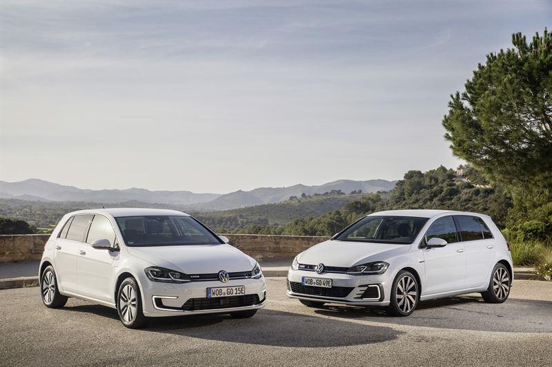 Volkswagen e-Golf ja GTE