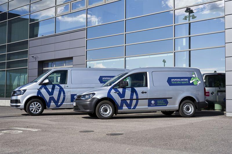 Volkswagen Transporter ja Caddy