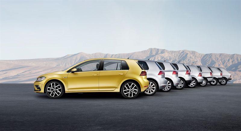 Volkswagen Golfin sukupolvet