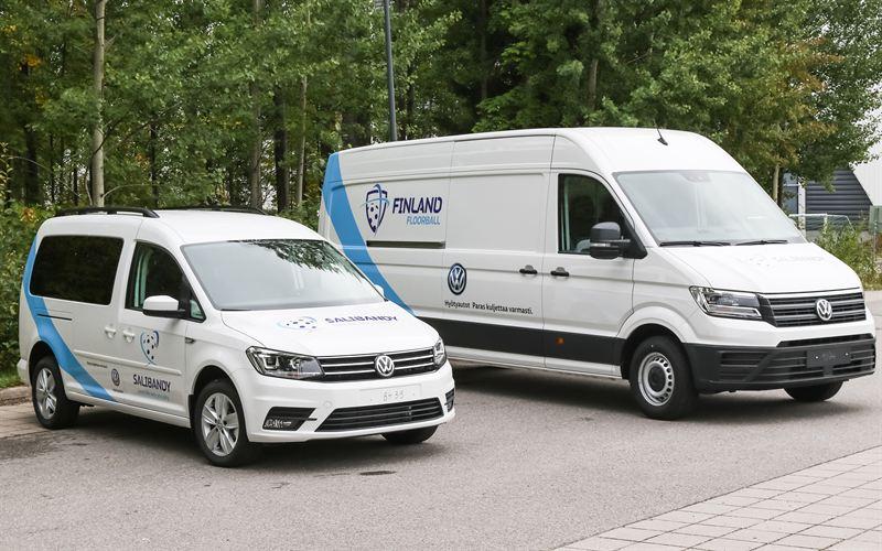 Volkswagen Hyötyautot Suomen Salibandyliitto