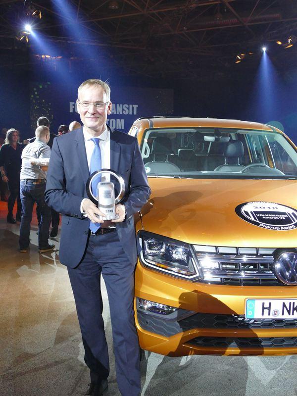 Volkswagen Amarok ja Dr. Eckhard Scholtz