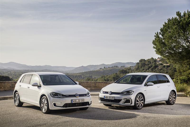 Volkswagen e-Golf ja Golf GTE