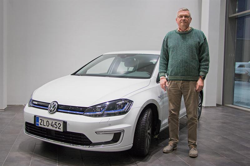 Volkswagen testikuljettaja Jorma Turunen
