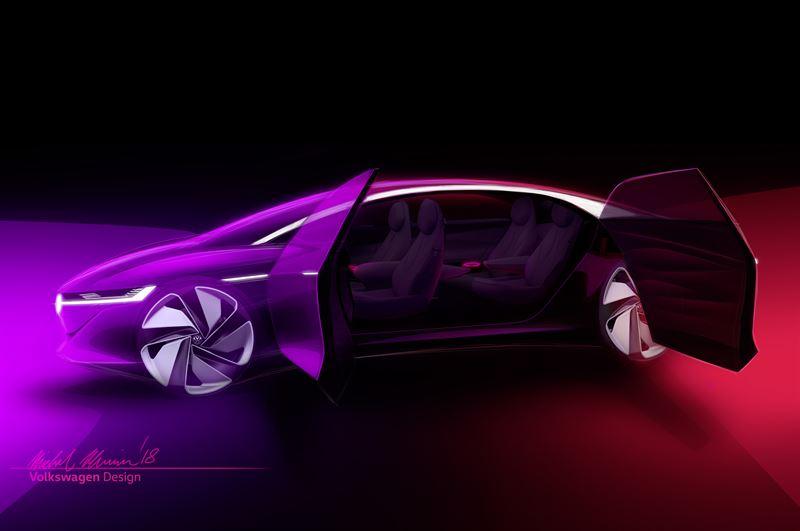 Volkswagen I.D. VIZZION -konseptiauto