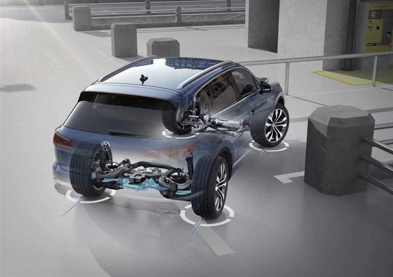 Uusi Volkswagen Touareg