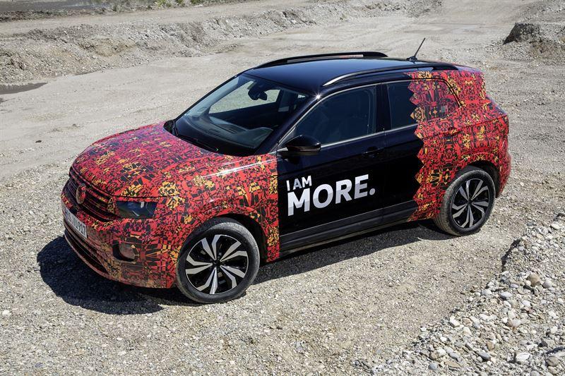 Uusi Volkswagen T-Cross camouflage