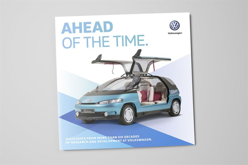 Volkswagen Ahead of time -kirjanen