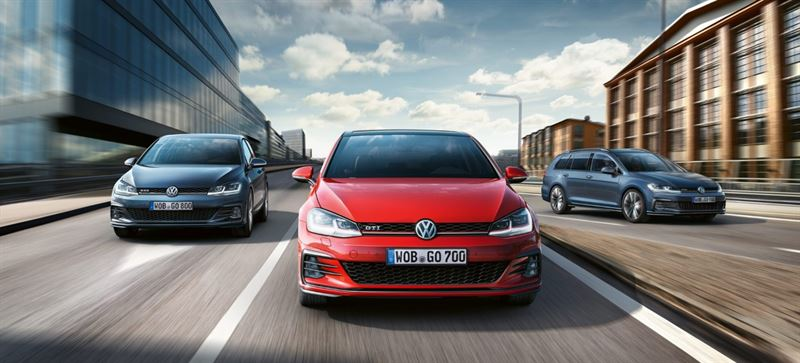 Volkswagen Golf mallistoa