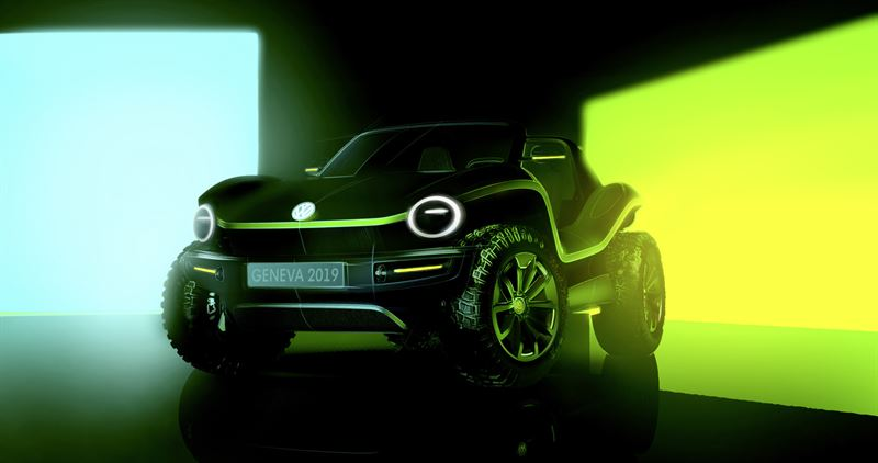 Volkswagenin konseptiauto Geneve 2019