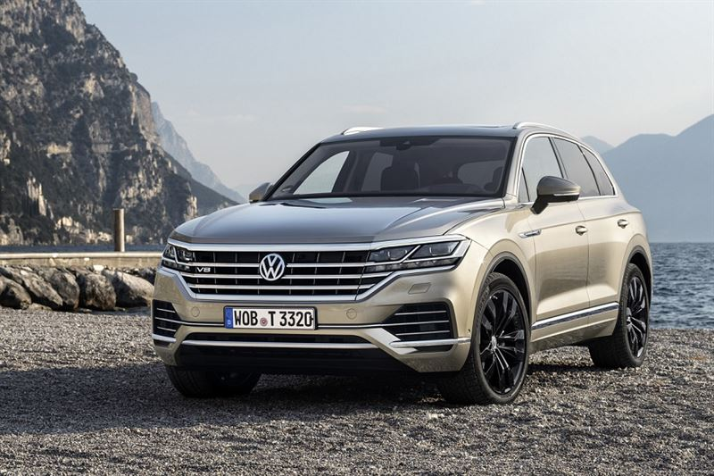 Uusi Volkswagen Touareg V8 TDI