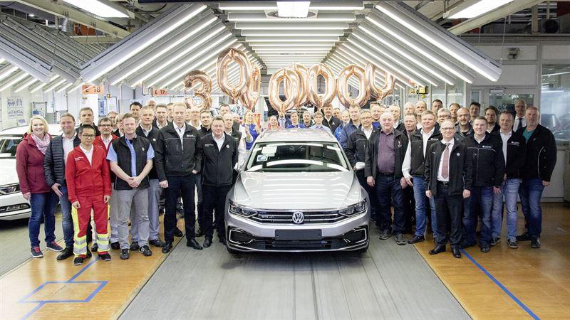 30. miljoonas Passat on GTE Variant