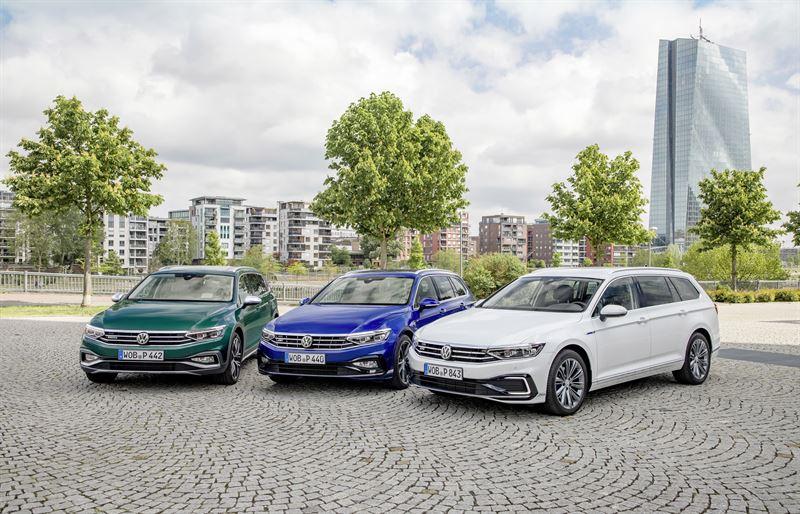 Uudistunut Volkswagen Passat