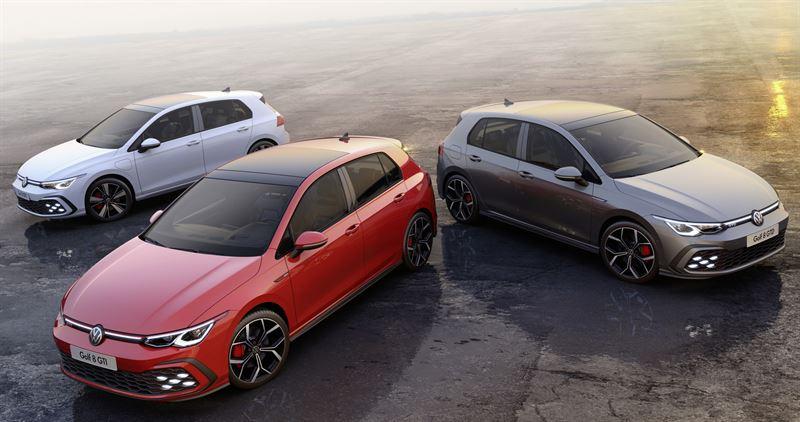 Uudet Volkswagen Golf GTI, Golf GTE ja Golf GTD