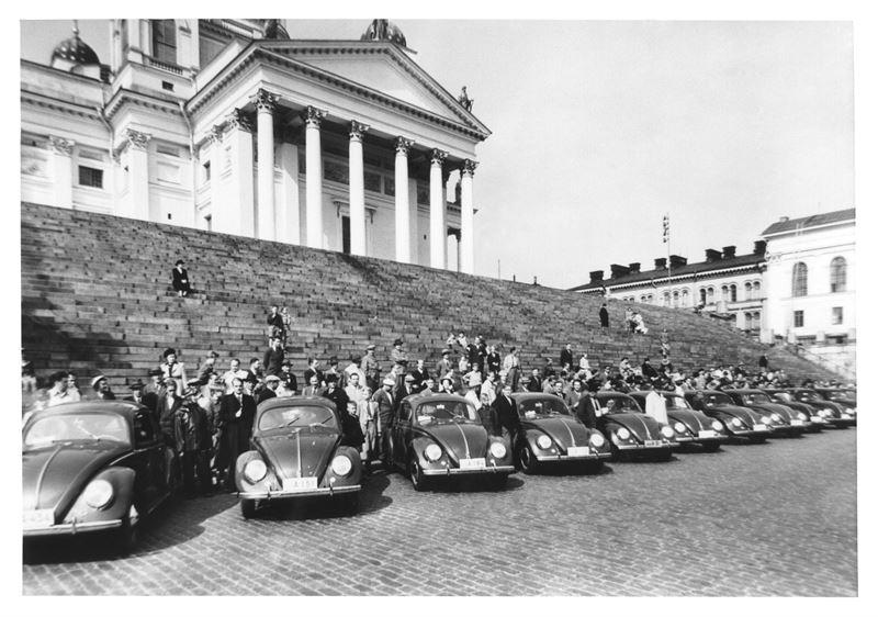 Volkswagen Kupla senaatintori 1950