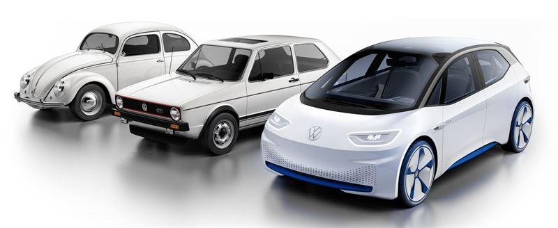 Volkswagen Kupla, Golf ja ID.3