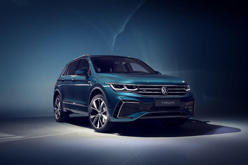 Uusi Volkswagen Tiguan R-Line