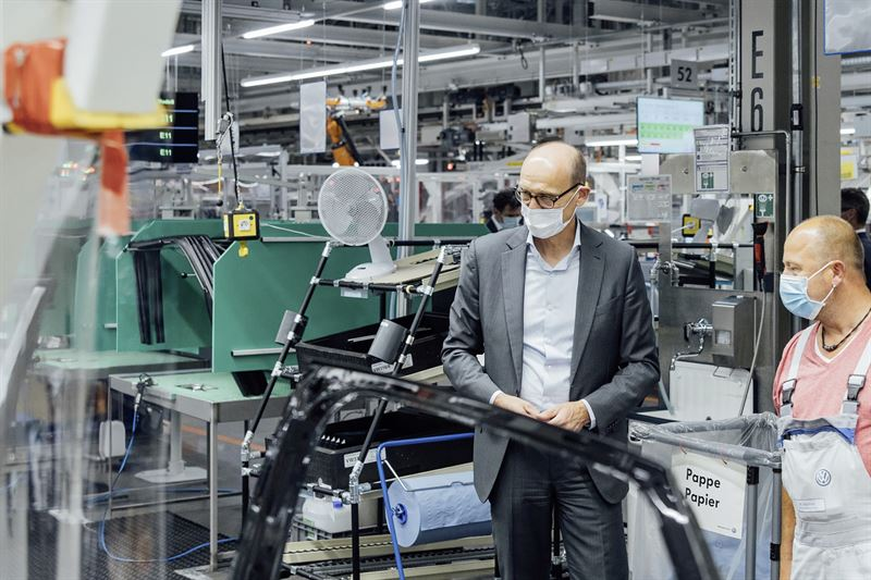Ralf Brandstätter ja ID.4 tuotannonaloitus