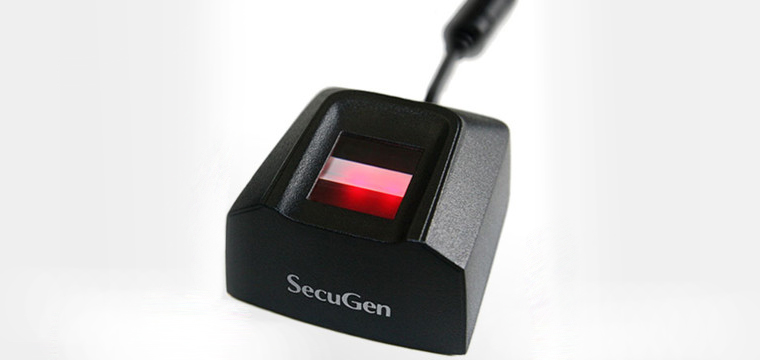 secugen hamster pro 20 with precise biometrics anti spoof detection software
