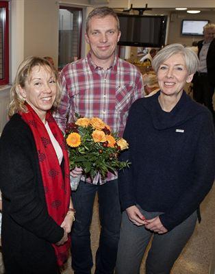 Arbetsmiljöstipendiet 2016 Christopher Malmqvist