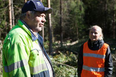 Hans Olsson skyddsombud SCA Skog AB