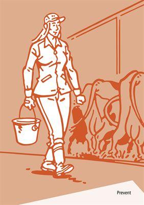 Bilderboken Jobba säker i lantbruket