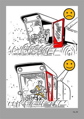 Illustration från boken om fordon/maskiner