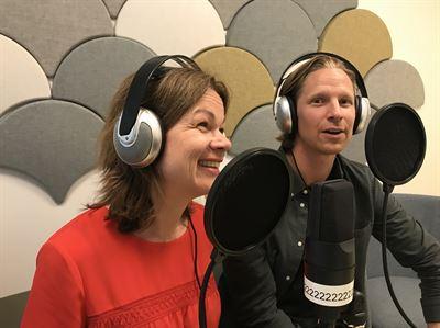 Christina Lindqvist och Philip Otter