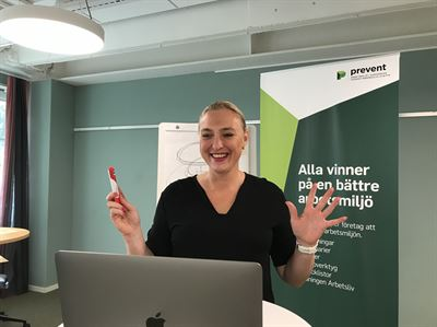 Petra Lundberg, utbildare Prevent