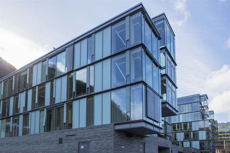 Spectacular view and maximized daylight for the hospital in