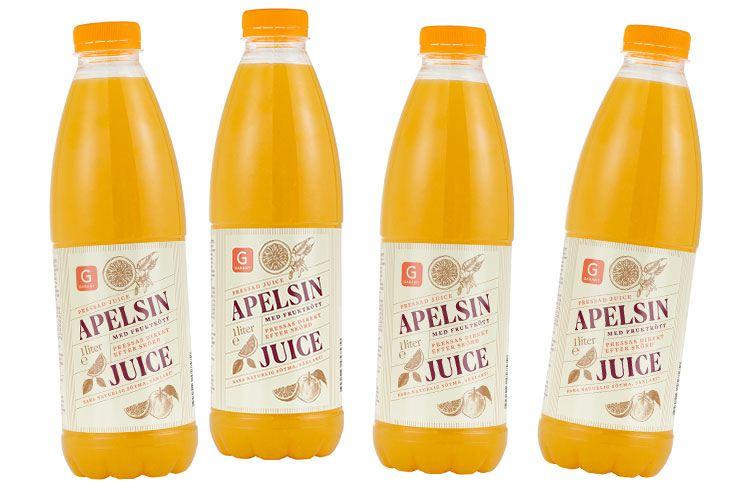 garant apelsinjuice