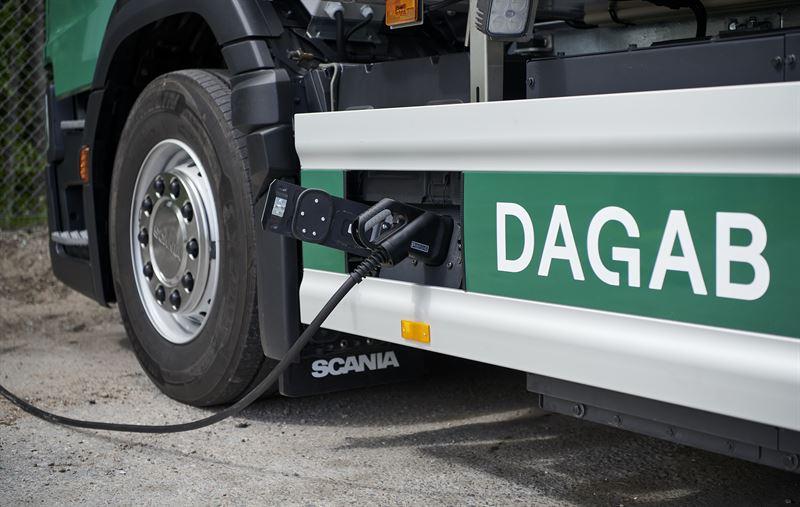 Dagab Scania laddning