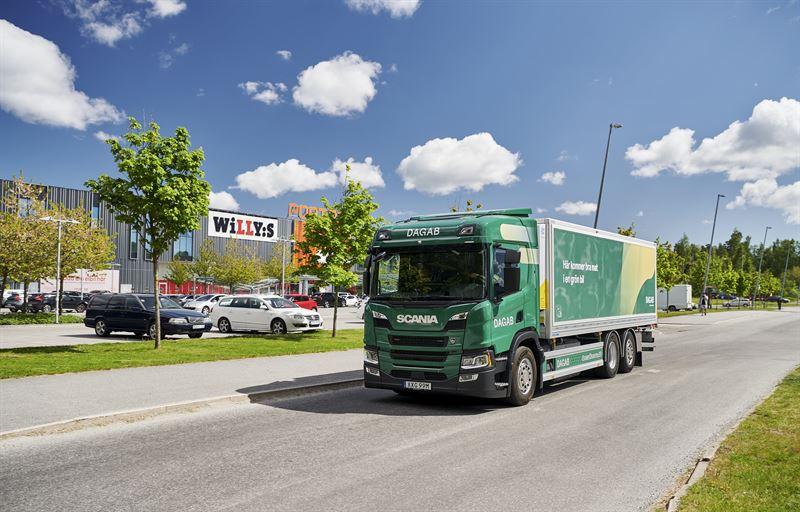Dagab Scania laddhybrid